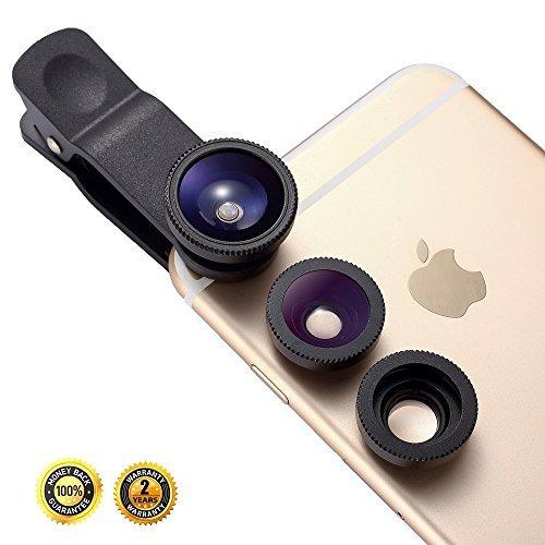 Handy iPhone Kamera, oande 3 in 1 Fischaugen Objektiv & 10 ...