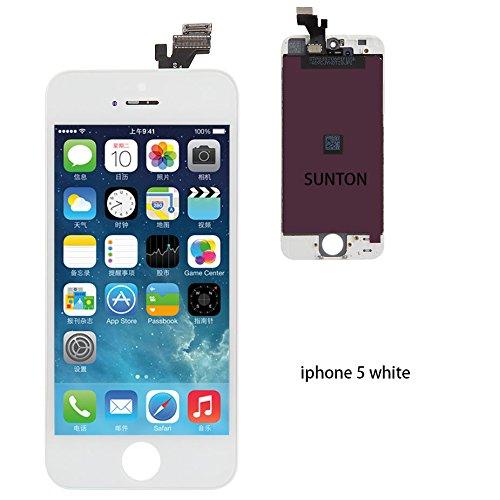 Nklglobal Ersatz Bildschirm für iPhone 5s LCD Display Weiß ...