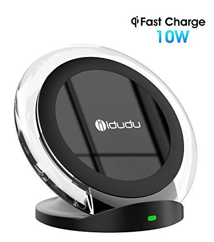 10w fast wireless charger schnellladestation kabellose ladestation f r samsung galaxy s8 s8. Black Bedroom Furniture Sets. Home Design Ideas