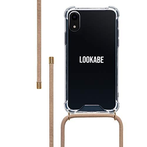 LOOKABE Necklace Case, Handykette für iPhone XR, grün